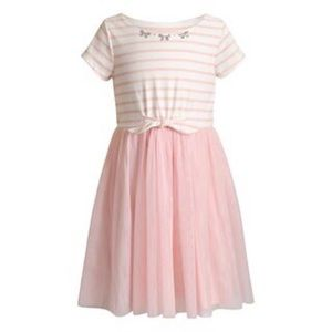 LITTLE GIRL 4T, YOUNGLAND PINK TULLE DRESS